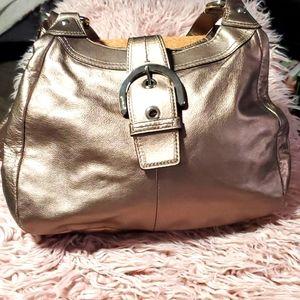 Coach Soho 'Lynn' Leather Hobo Handbag